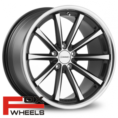 Диск Vossen CV1 Matte Black Machined